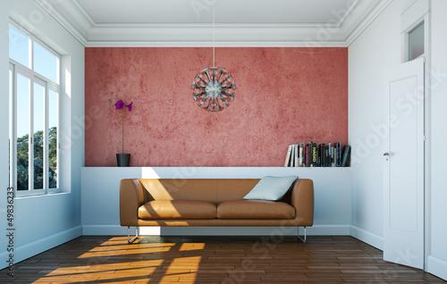 modernes ledersofa braun stockfotos und lizenzfreie. Black Bedroom Furniture Sets. Home Design Ideas