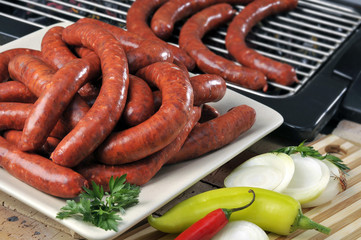 merguez barbecue