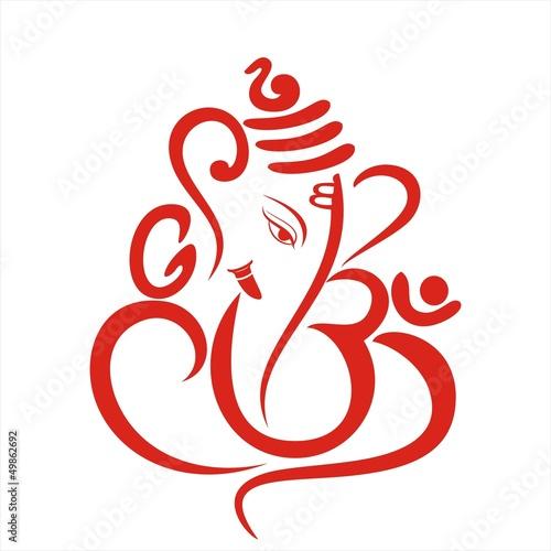 Ganesha Hindu Wedding Card Royal Rajasthan India Stock Image And Royalty Free Vector Files