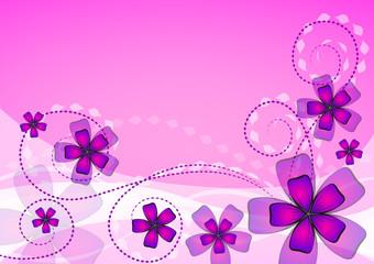 blumenhintergrund rosa