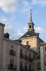 Detail of churche in Madrid