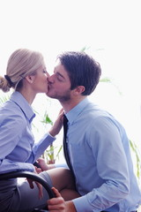 business people romance