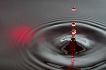 Wassertropfen abstrakt  Hintergrund