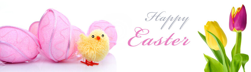 Banner happy Easter