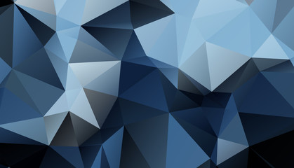 Dark Blue Geometric background vector eps 10