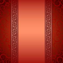 Vector illustration of decorative border.