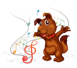 The singing dog