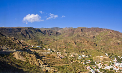 The dreamy and wild mountains of Gran Canaria in Spain.