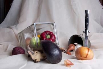 Composition de légumes