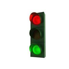 Ampel - rot und grün - 2