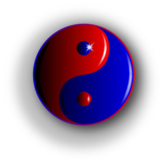 Yin and Yang, Red and Blue.