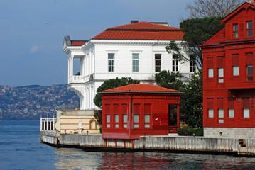 Waterside residences at Bosporus, Istanbul