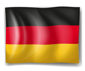 A German flag
