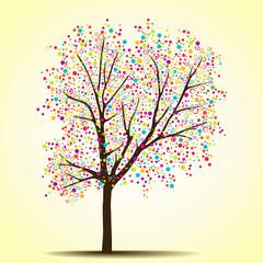Spring (summer) tree
