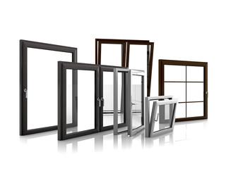 Fototapeta Verschiedene Fenster obraz