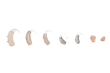 hearing aids, different kinds