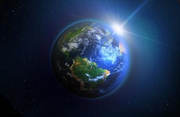Globe - Sunrise
