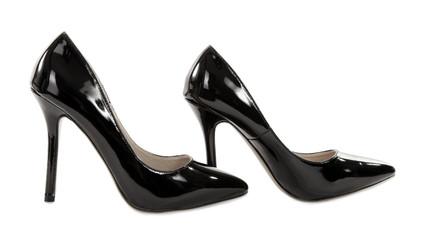 Black high heels pump shoes