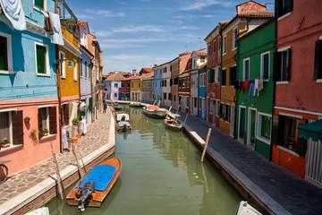 Aluminium Prints Venice Canals of Burano