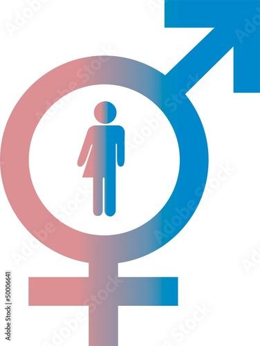Gleichberechtigung Zeichen