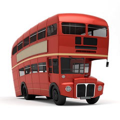 Red bus Route master