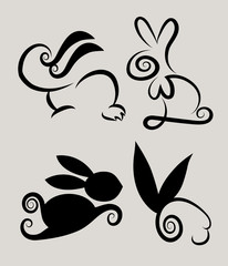 Rabbit Symbols 2
