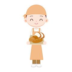 近所のパン屋さん 男性店員