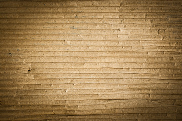 Textured grunge of cardboard with natural fiber parts