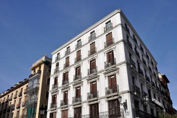 Architecture in Hapsburg Madrid (Spain)