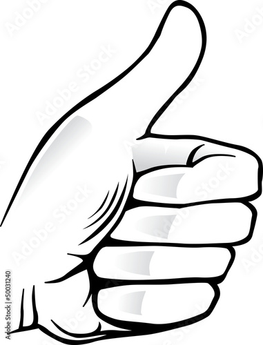 Hand With Thumb Up Symbol Best Choice Stock Image And Royalty Free