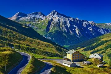 Wall Mural - Alps landscape