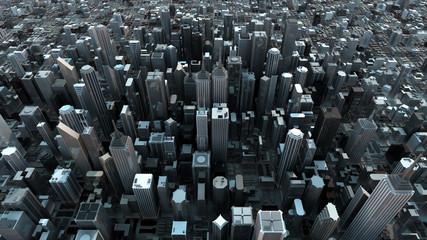 Ciudad vista aerea