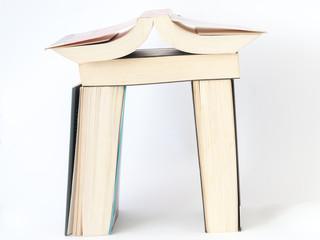 Domek z książek