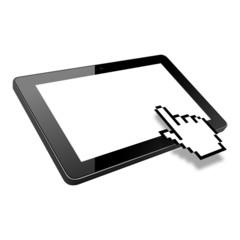 tablet mauszeiger finger II
