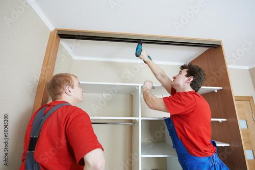 Установка раздвижных дверей шкаф своими руками видео