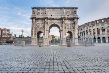 Arch of Constantine in Rome, Italy Wall mural