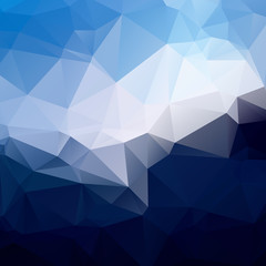 Heaven blue Geometric background vector eps 10