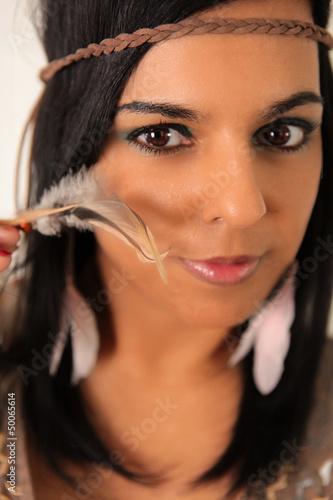 indianer squaw stockfotos und lizenzfreie bilder auf bild 50065614. Black Bedroom Furniture Sets. Home Design Ideas