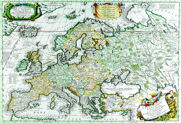 Wall Mural - Map of Europe.1690