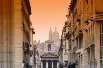 Recess Fitting Paris Paris, Notre Dame de Lorette et Sacré-Coeur