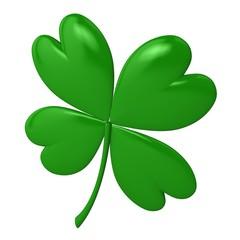 Saint Patrick's Day 3d clover sign