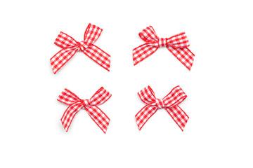 Checkered Ribbon Ties