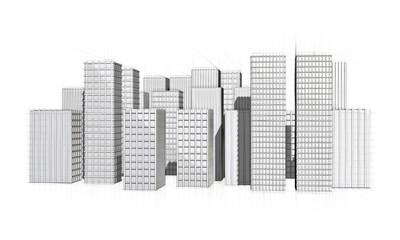 rough sketch of big city
