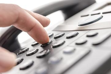 Telephone keypad detail