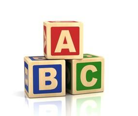 abc letters - alphabet cubes