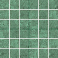 High-quality Green mosaic pattern background.