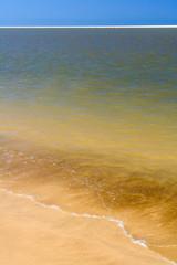 Beach and sandbank