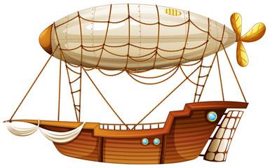 An airship