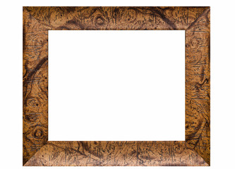 Rustic wooden photo frame