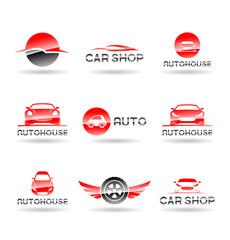 Car service and Repairing icon set. Vol 2.